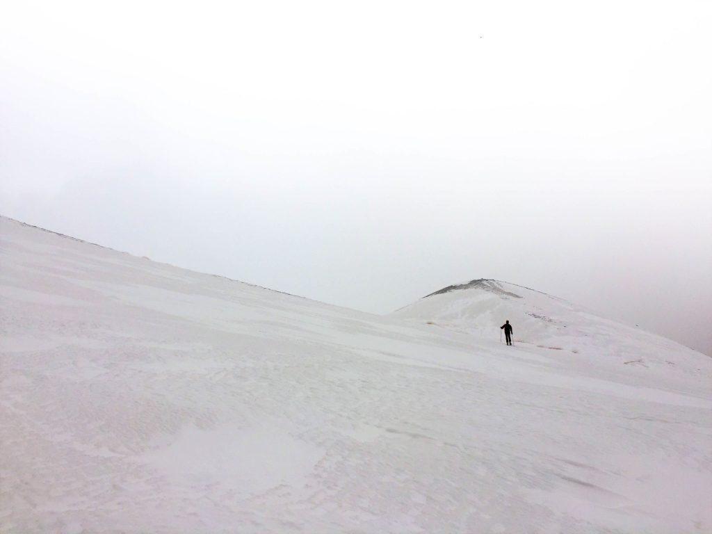 "Traversata verso Monte Frumento - Etna, Monte Frumento ed il ""Mare bianco"""