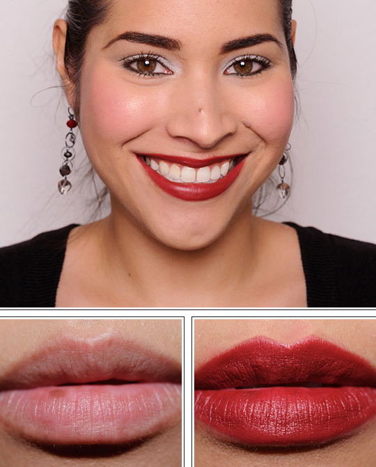 NARS Amsterdam Pure Matte Lipstick Review Photos Swatches