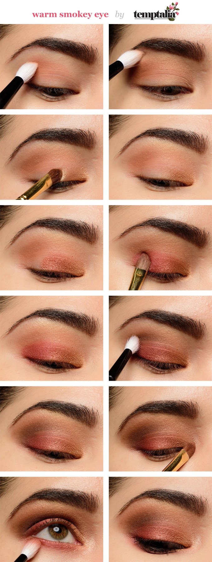 eye makeup for beginners: step-by-step tutorial (2019