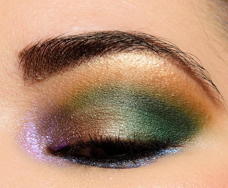 Green Eye Look Featuring Colourpop