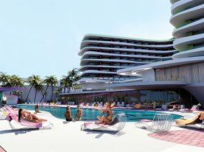 Temptation resort & spa new pool area
