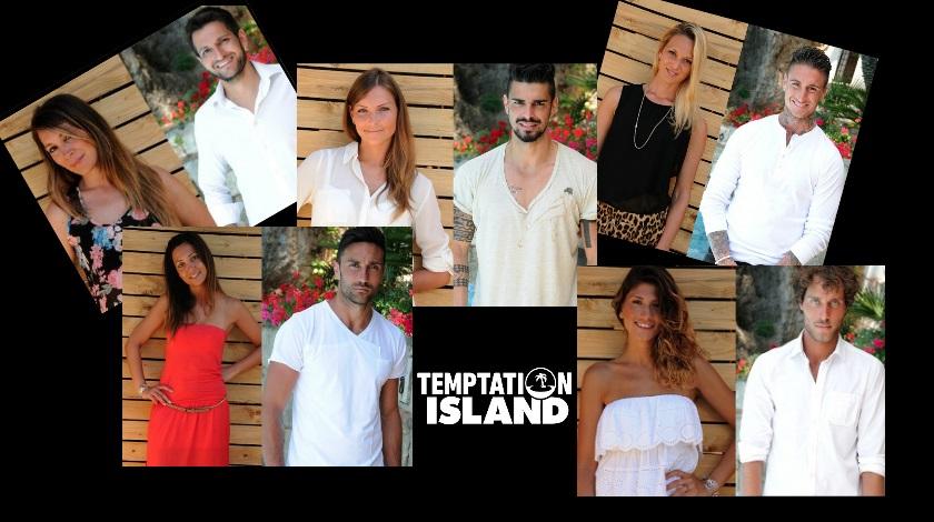 temptation island prima edizione 2014 le coppie