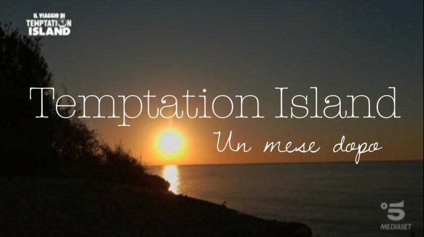 temptation island speciale un mese dopo copertina