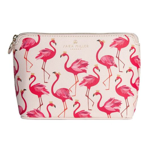 Sara Miller Flamingo Cosmetic Bag Temptation Gifts