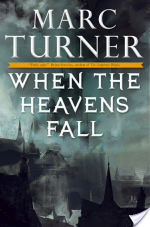 Review: When the Heavens Fall by Marc Turner