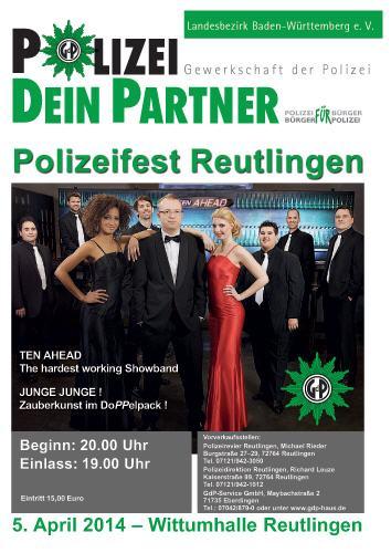 Liveband, Coverband, Partyband, ten ahead, koeln, Köln, NRW, reutlingen, polizeiball