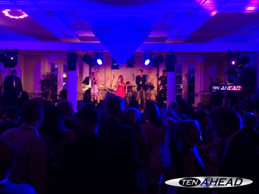 Liveband, Coverband,  Partyband, ten ahead, baur au lac, rive gauche, sommerparty, zürich, zuerich, 2014