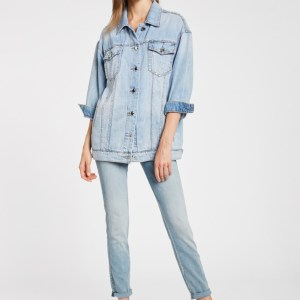 Giacca jeans oversize
