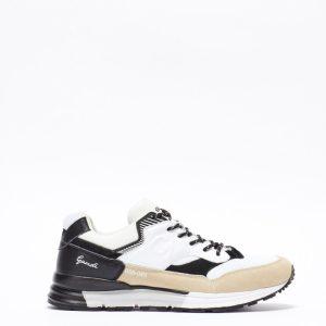 sneakers in suede