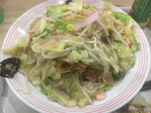 野菜たっぷり皿うどん_そのまま食べる