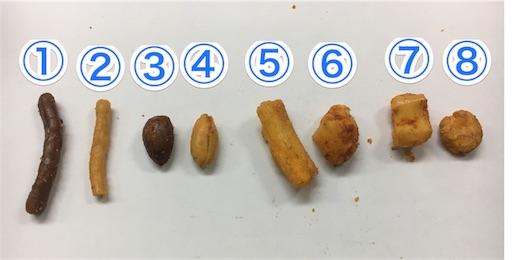 デスミックスの中身は8種類