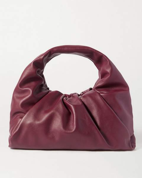 Sac Bottega Veneta Hobo Bordeaux