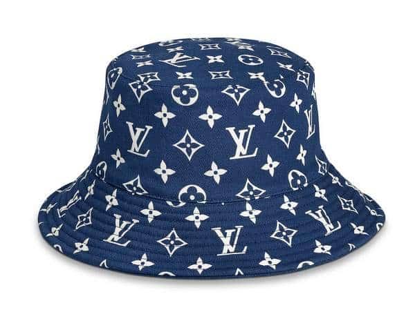 Chapeau monogram Louis Vuitton Escale Chapeau seau