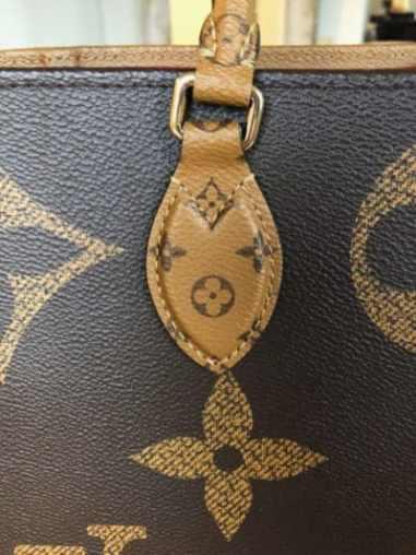 Qualité & construction sac cabas Louis Vuitton Onthego
