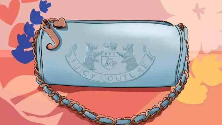 Le sac à main en éponge Juicy Couture : une ode à une icône de ma jeunesse