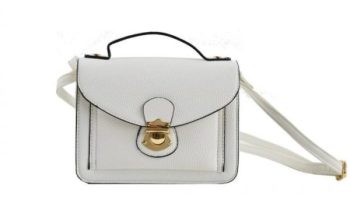 Comment nettoyer un sac en cuir blanc ?