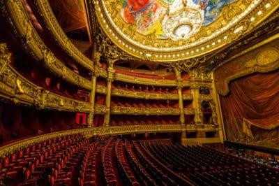 Quel sac à main choisir pour voyager : A l'intérieur de l'opéra du Palais Garnier Palais Garnier à Paris