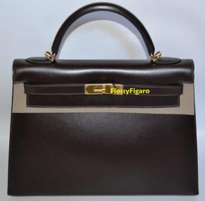 Sac Hermès Kelly, les enchères commencent à 11 020 $ via eBay