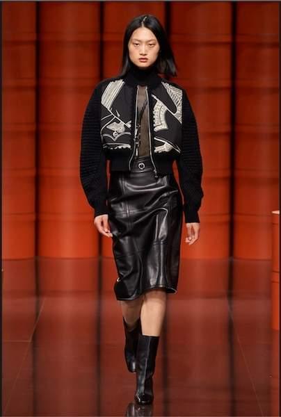 """Look 5. Exquise veste Twillaine avec détails """"Brandebourgs"""""""