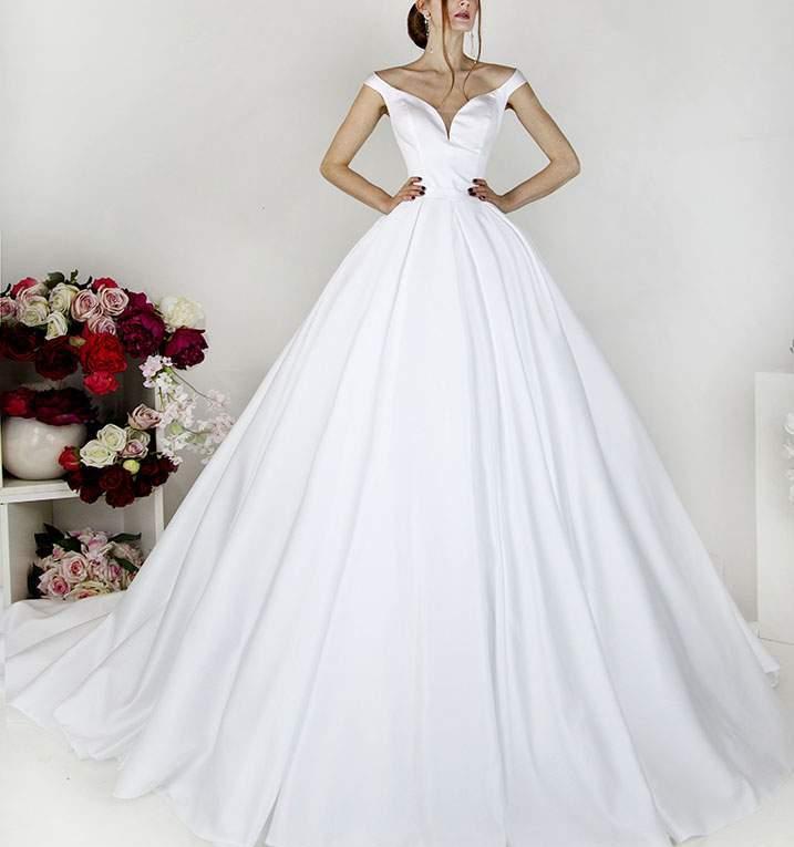 Une robe de mariée qui vient directement de Paris