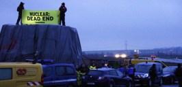 Blocage d'un élément de l'EPR : 500 à 1000 euros d'amende pour les militants de Greenpeace