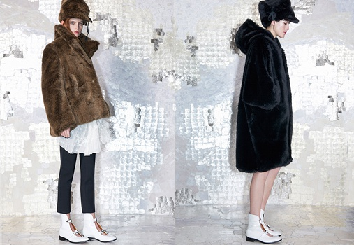 Le manteau 'doudou'