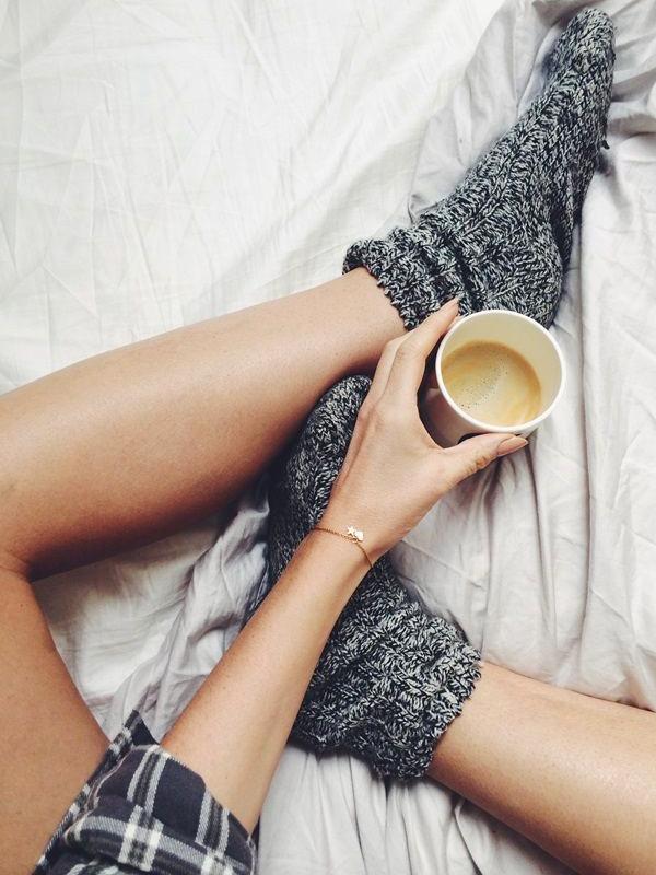 Café + grosses chaussettes
