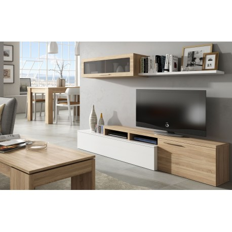 ensemble meuble de tele nexia simple ou angle