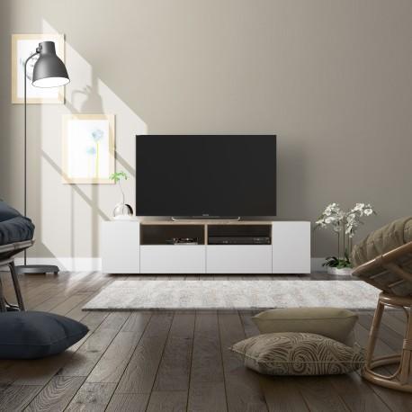 meuble tv scandinave tamiko