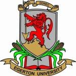 Egerton University tender