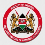 MINISTRY OF INTERIOR & COORDINATION OF NATIONAL GOVERNMENT TENDER 2021