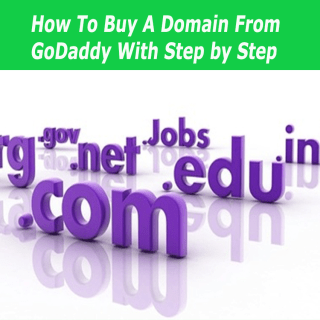 How to buy a domain from Godaddy with steps by steps