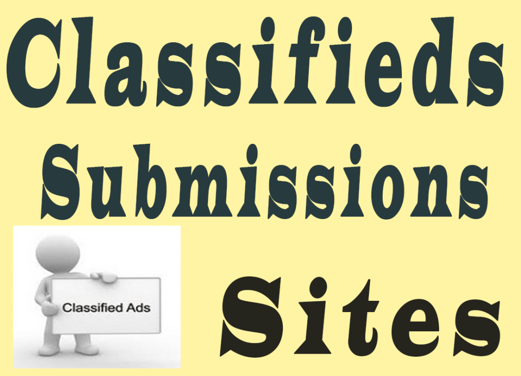 252+ High DA Free Classified Submission Sites List In India