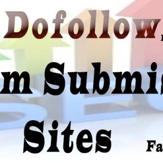 Dofollow forum submission sites list
