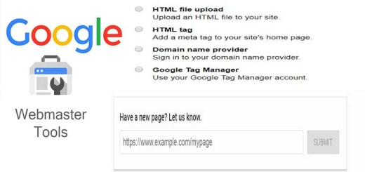 Submit the site to Google