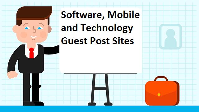 90+ Software Development Guest Post Sites List | TendToRead