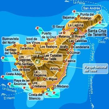 Dove alloggiare a Tenerife - le migliori zone e hotel ~ Tenerife ...