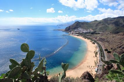 Perfekt für den Langzeiturlaub auf den Kanaren Teneriffa: Las Teresitas