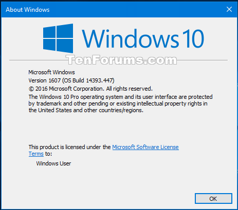 Cumulative Update Kb3200970 Windows 10 Version 1607 Build 14393 447 Windows 10 Forums
