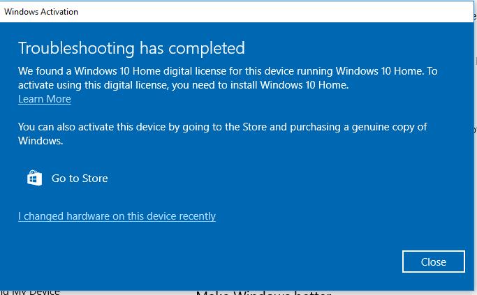 Windows 10 Activation Fail Error 0xC004F034 Solved