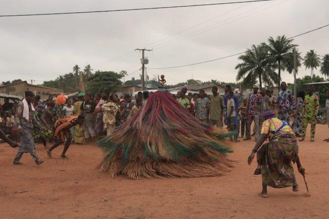 Rito voudou a Ouidah