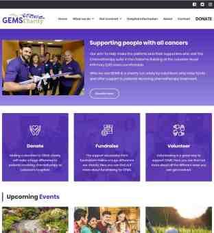 Charity Web Design - Charity Website Design