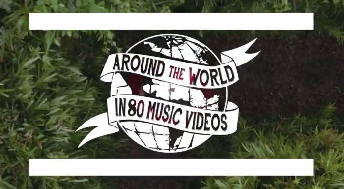 Resultado de imagem para around the world in 80 music videos