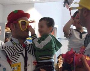 Quinto Eduardo Responsabile della Clownterapia della Teniamoci per Mano Onlus