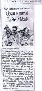 Clown e Sorrisi alla Stella Maris Giornale di Livorno
