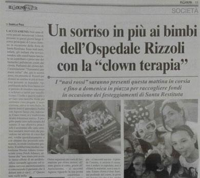 Clownterapia Rizzoli