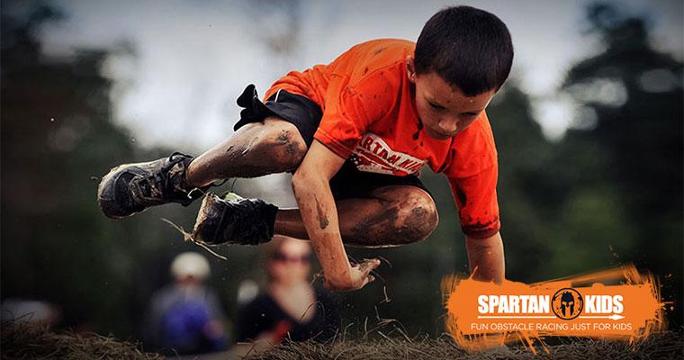 Spartan Junior Race e Teniamoci per Mano Onlus