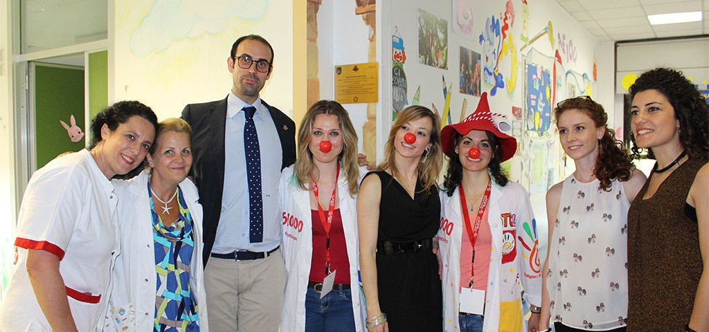 Ludoteca Ospedale Pertini con il Rotary Club Roma e Teniamoci per Mano Onlus