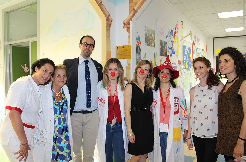 Una nuova ludoteca per i bambini dell'ospedale Sandro pertini di Roma