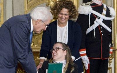 Greta: Cavaliere dell'Ordine al Merito della Repubblica Italiana